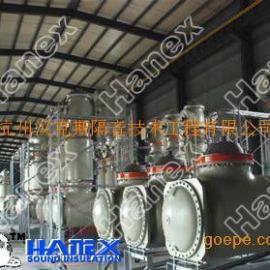 换热站噪音控制施工,换热站噪声治理技术,换热站降噪音原理