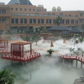 花园别墅景观造雾设备 造雾设备