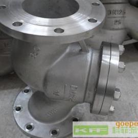 H41水平安装直通式不锈钢升降式止回阀