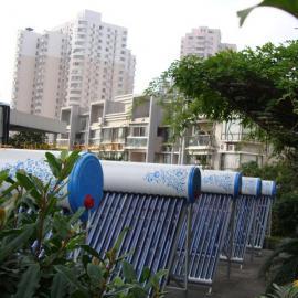 上海城管大队专用太阳能热水器
