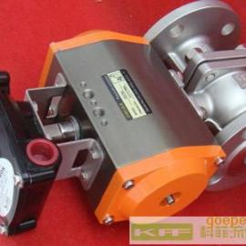 Q41F二片式不锈钢气动球阀/气动阀门