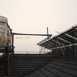 上海员工宿舍太阳能热水系统