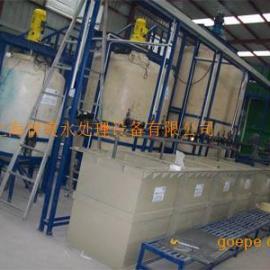 上海水帘柜喷漆线废水处理