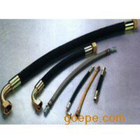 钢丝绝缘胶管 外编不锈钢丝橡胶管