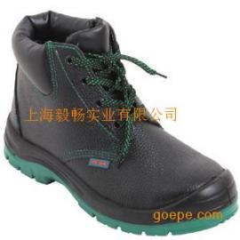 吉豹WB530P中帮防砸防穿刺安全鞋