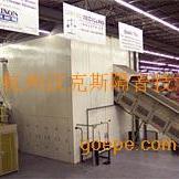 钢化炉噪声治理_钢化炉吹风段隔音房,钢化炉冷却器噪音治理