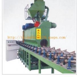 供应广东东莞钢管抛丸机-中山泰达机械