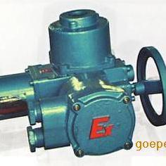 蝶阀防爆电动执行器DQW60-18B球阀防爆电动装置