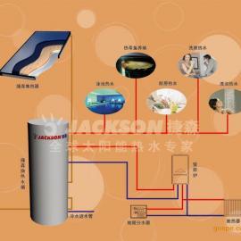 太阳能热水工程别墅地暖