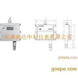 天津管道式壁挂式数显温湿度变送器
