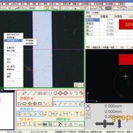 光学测高的二次元测量软件M3D三轴软件