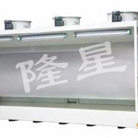 多工位水帘粉机