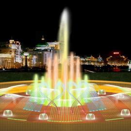 河南广场音乐喷泉施工、郑州喷泉设计
