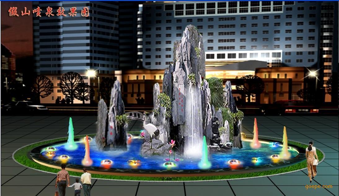 郑州人造雾,郑州喷泉 郑州私人别墅景观设计 河南郑州雾森系统价格