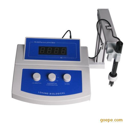 台式实验室酸度计ph-550供应商、浙江台式实
