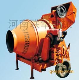 小型号柴油机滚筒式(JZC350)混凝土搅拌机