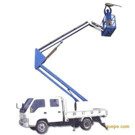 车载式折臂式升降平台、升降平台专业生产厂家