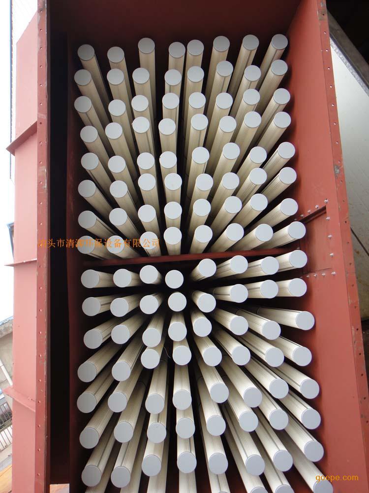 针刺毡除尘布袋 135*2500mm拒水防油针刺毡除尘滤袋