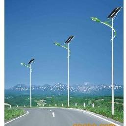 60瓦太阳能路灯灯杆