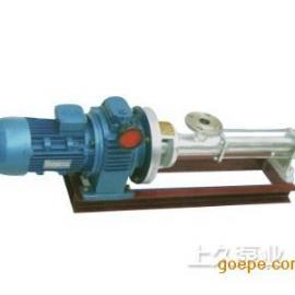 无级调速型螺杆泵