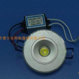 1*1W大功率LED天花��HD041