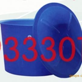 滚塑圆桶,食品级储存桶,宁波塑料制品供应1000升打浆桶