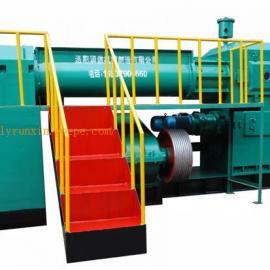 页岩挤出机 粉煤灰制砖机 全自动双级真空挤砖机生产线