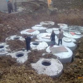 150m³预制化粪池