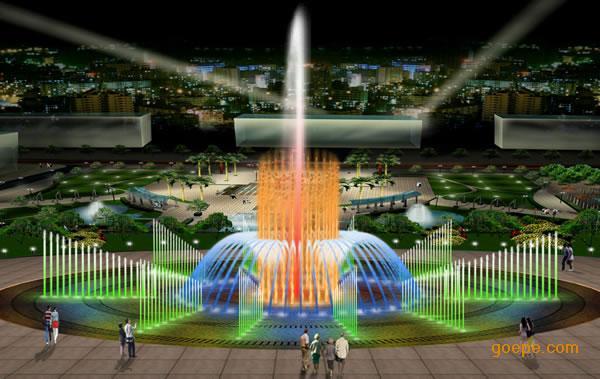 成都音乐喷泉工程公司、四川喷泉公司