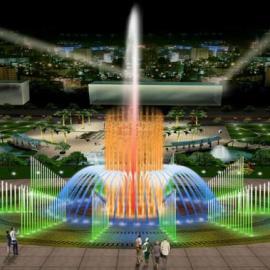 四川喷泉、成都音乐喷泉、程控喷泉公司