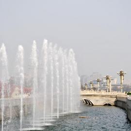 成都音乐喷泉公司、程控喷泉、旱地喷泉