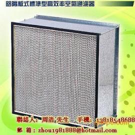 上海有隔板高效过滤器,江苏纸隔板过滤网