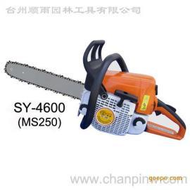 国产油锯精品46修枝伐木汽油链锯园林修枝专用
