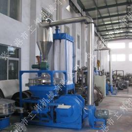 高产量立式塑料磨粉机