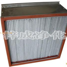 耐高温有隔板亚高效过滤器