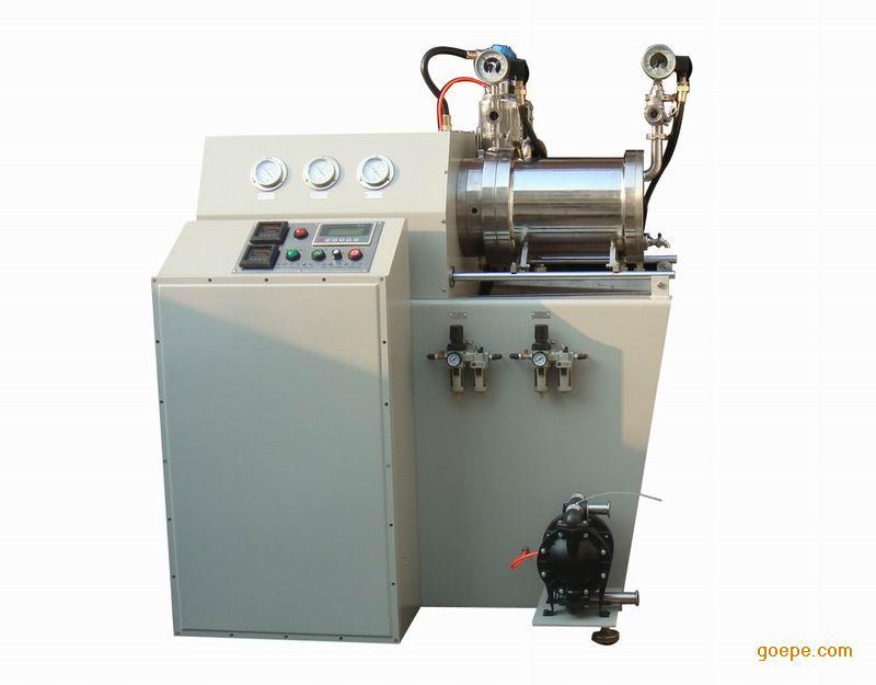 纳米陶瓷砂磨机_产品展示 全陶瓷纳米砂磨机 涡轮式陶瓷砂磨机                    纳