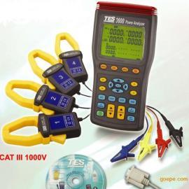 台湾泰仕TES3600三相电力分析仪TES-3600