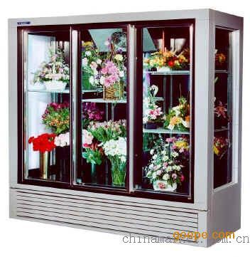 上海花店鲜花展示柜|/鲜花保鲜柜价格