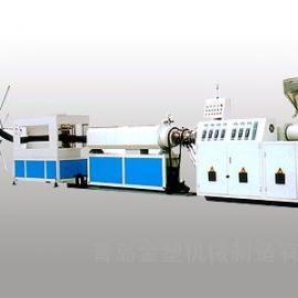 PE碳素螺旋管材生产线