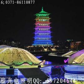大型霓虹灯、吸塑字、灯箱、楼体泛光照明