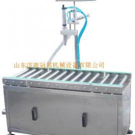 淄博单头润滑油灌装机 济宁玻璃水灌装机