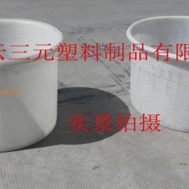 500L大口塑料桶500公斤卧式塑料桶