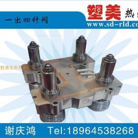控制针阀热流道模具|针阀热流道系统