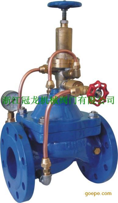 产品名称:430x 泄压阀/安全阀   产品简介:可将水管中超过安全设定图片