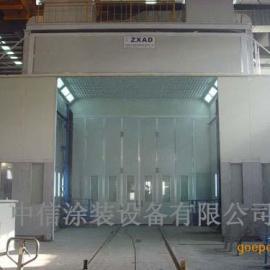 大型机械喷烤漆房