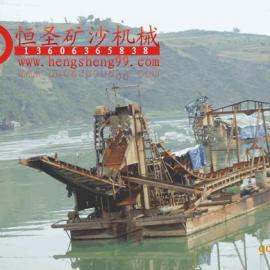 大型海洋深水淘金船