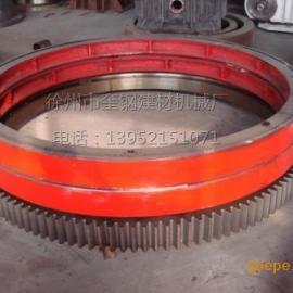 复合肥回转式包膜机大齿轮 滚圈
