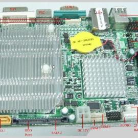 嵌入式主板N270工控主板 工控机主板