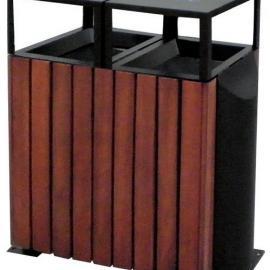 木条垃圾桶 分类垃圾桶 公园垃圾桶 环保垃圾桶
