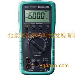 数字式万用表KEW 1009A